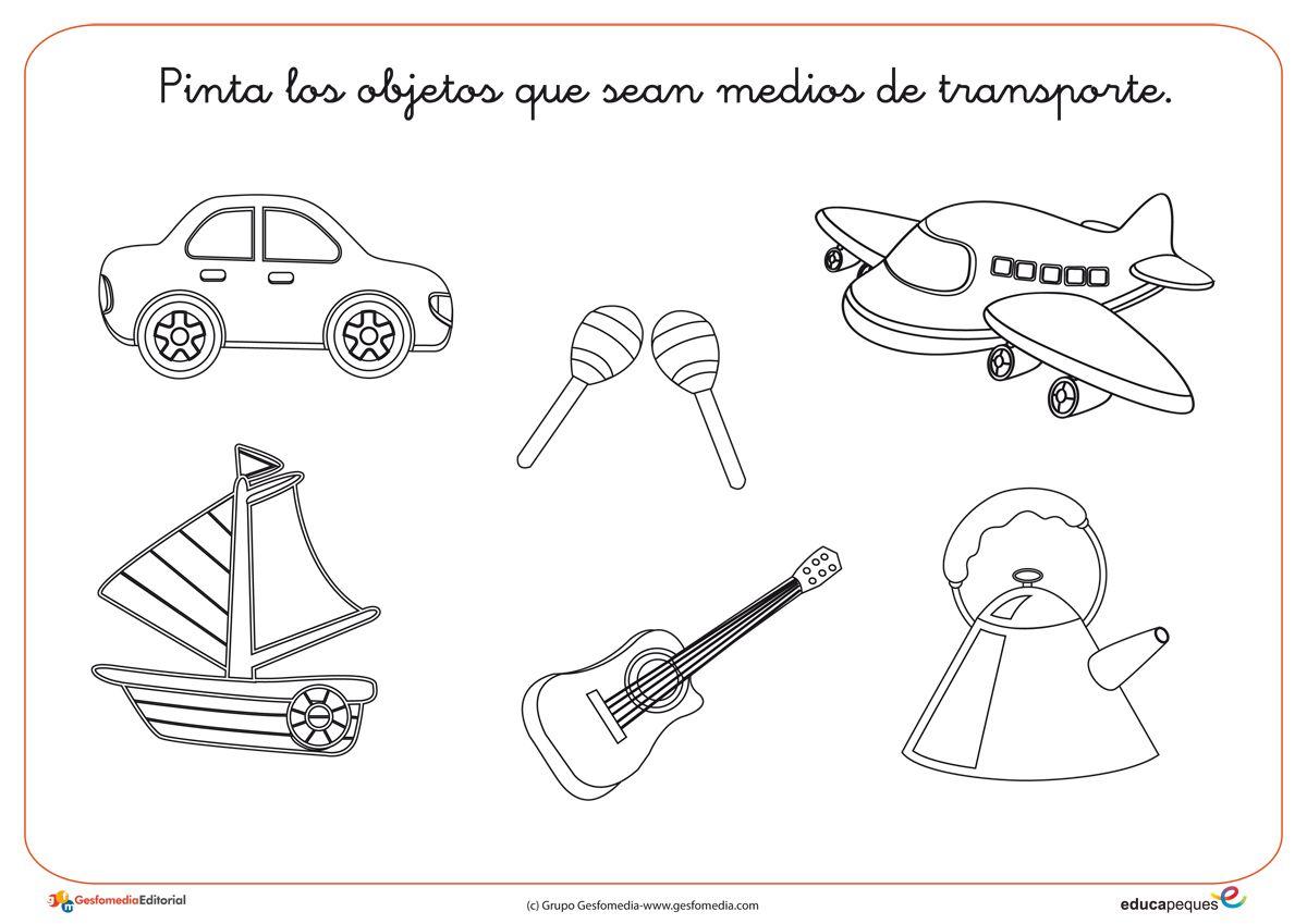 Fichas de infantil actividades para imprimir conceptos for Actividades para jardin