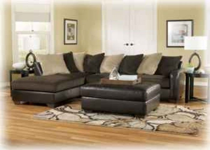 Ashley 2pc Sectional Only 799 No Credit Check Financing 799