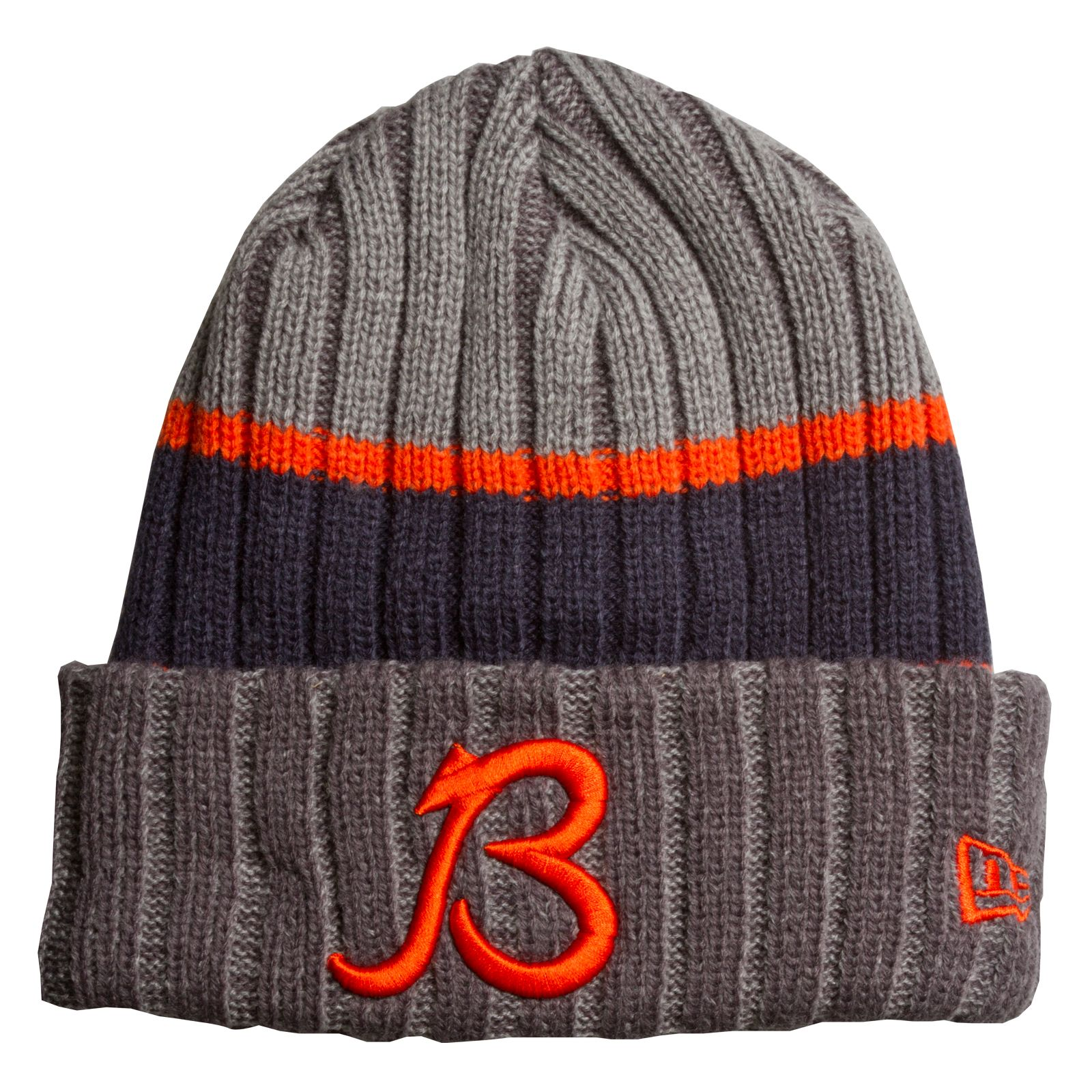 bd764c0f Chicago Bears Grey, Navy, and Orange Script