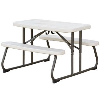 Lifetime Kids Folding Picnic Table   Almond   This Would Be Great For When  We Go To Other Peoples Houses   For Thanksgiving For Christmas   For  Outdoor ...