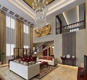 Chinese Modern Villa Living Room Interior Design Interior Design