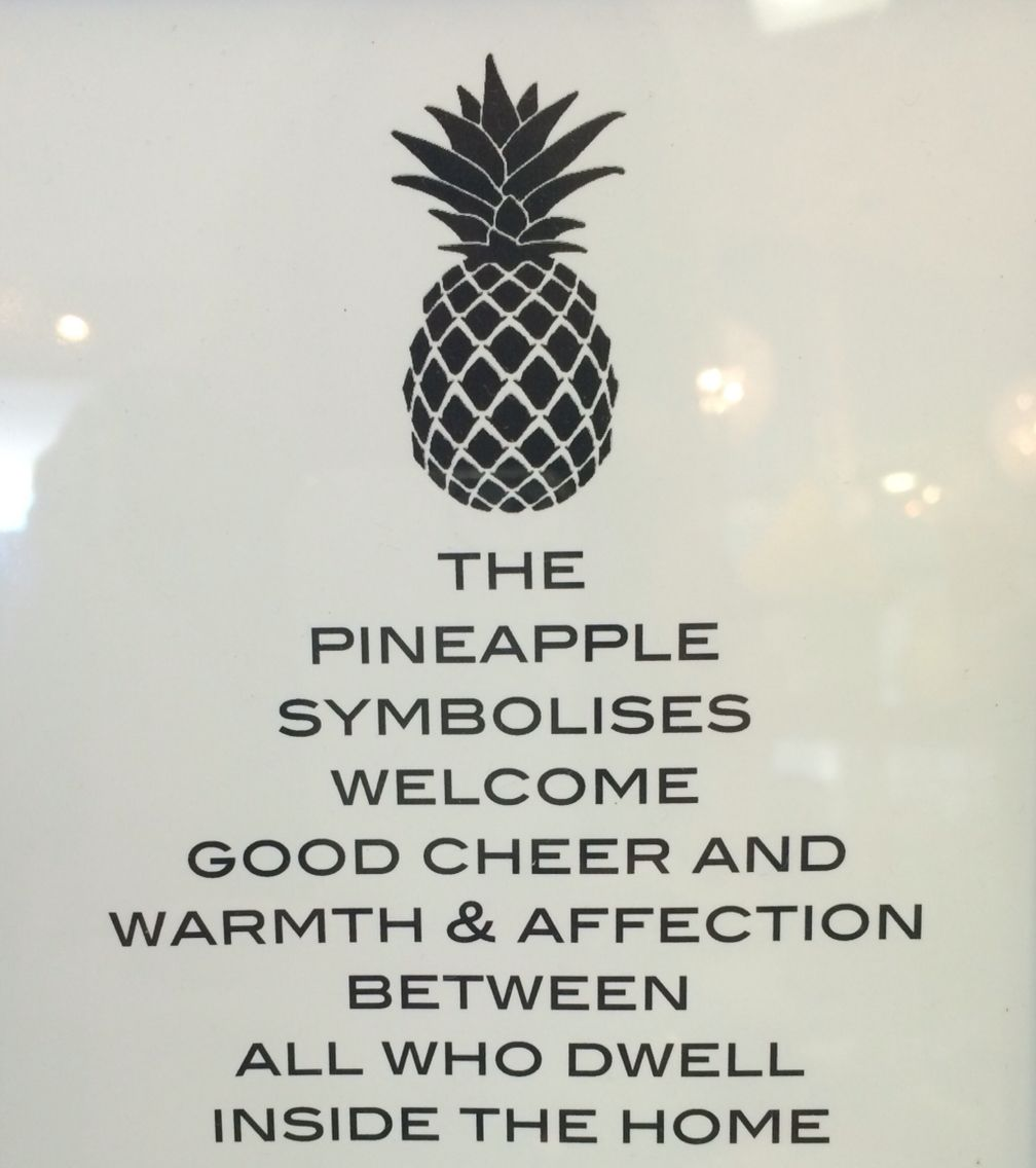 Pineapple Meaning Pinteres