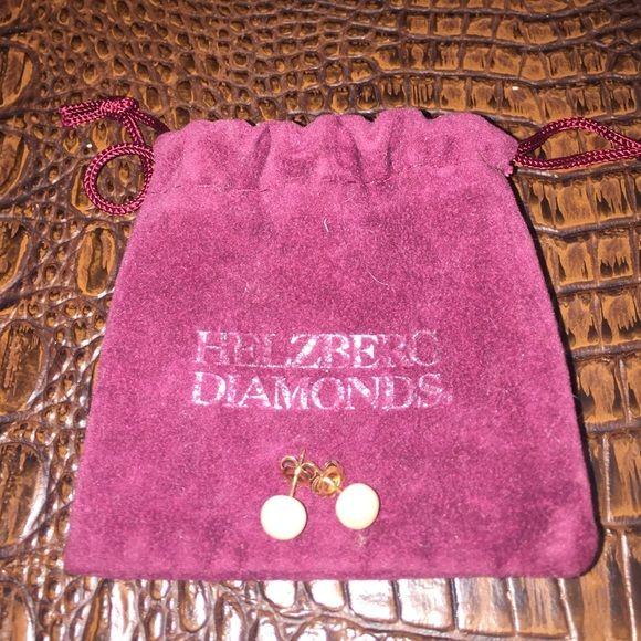 Helzberg Diamonds Freshwater Pearl Stud Earrings Helzberg Diamond Freshwater Pearl Stud Earrings Helzberg Diamonds Jewelry Earrings