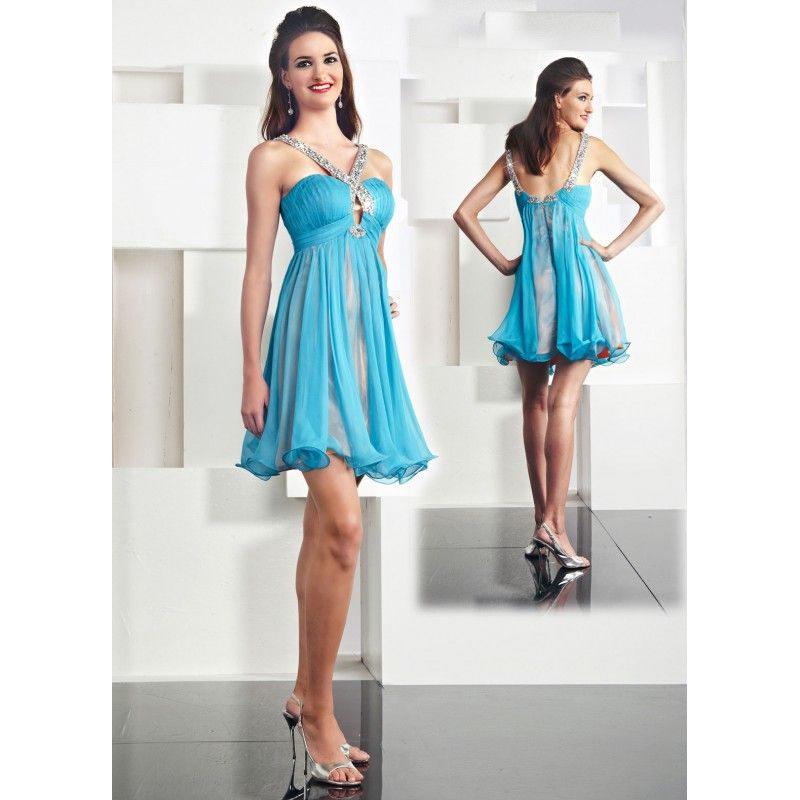 Collection Light Blue Party Dress Pictures - Reikian