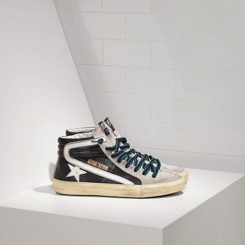Schoenen Golden Goose Heren Slide Sneakers Sale G92ws182 R84