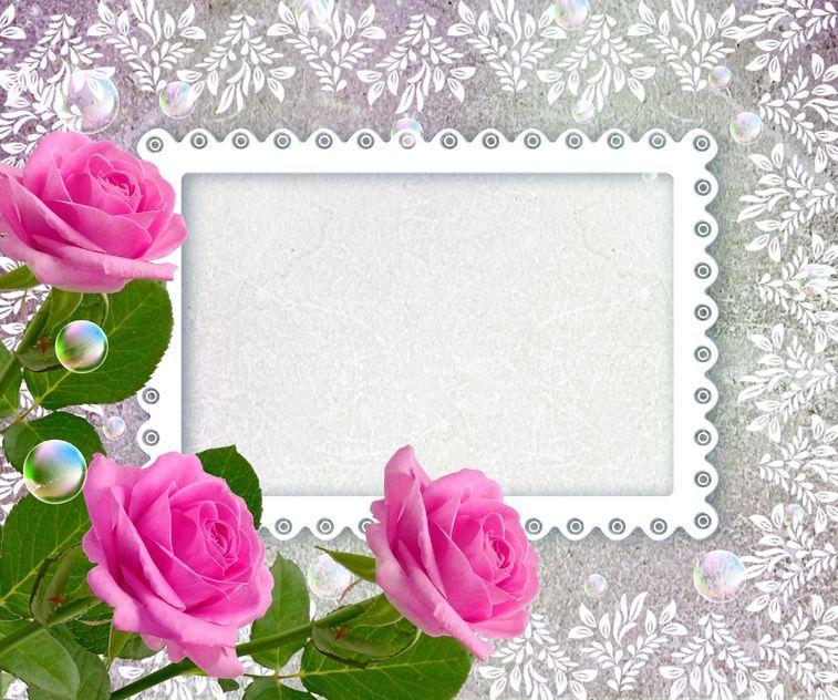 Imagen Original Con Fondo Blanco Para Personalizar Escribiendo Lo Que Tu Quieras Nombres Con Flores Descargar Marcos Para Fotos Marcos Para Fotos