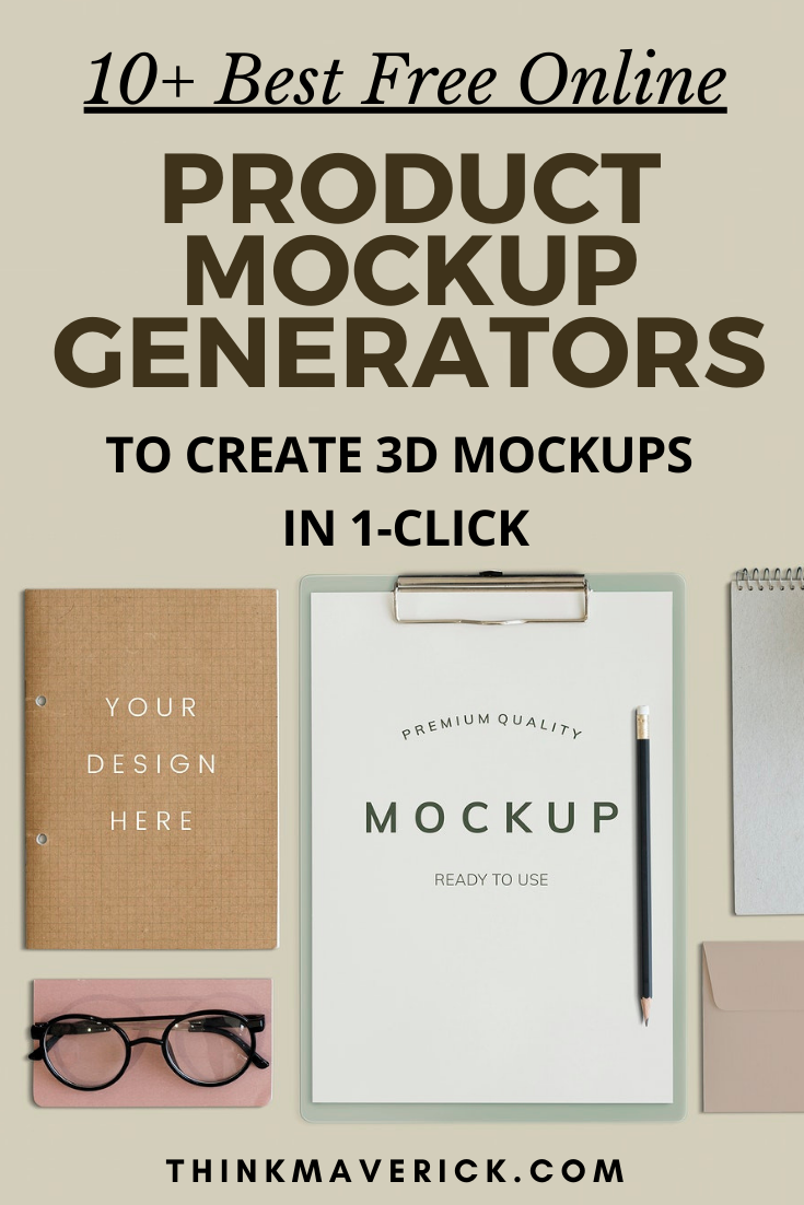 13 Best Free Online Tools To Create 3d Mockups In Seconds No Photoshop Needed Thinkmaverick My Personal Journey Through Entrepreneurship Create Business Cards Free Mockup Generator Phone Template