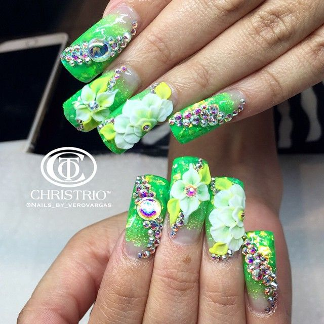 ✴〰Estilo sinaloa〰✴ | uñas estilo sinaloa T.M.M :) | Pinterest ...