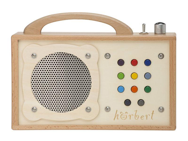 hörbert - mp3-Player für Kinder aus Holz von WINZKI-Shop auf ...