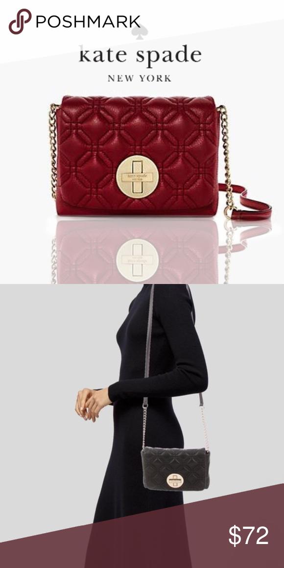 New Kate Spade Astor Court Naomi Quilted Crossbody Bag