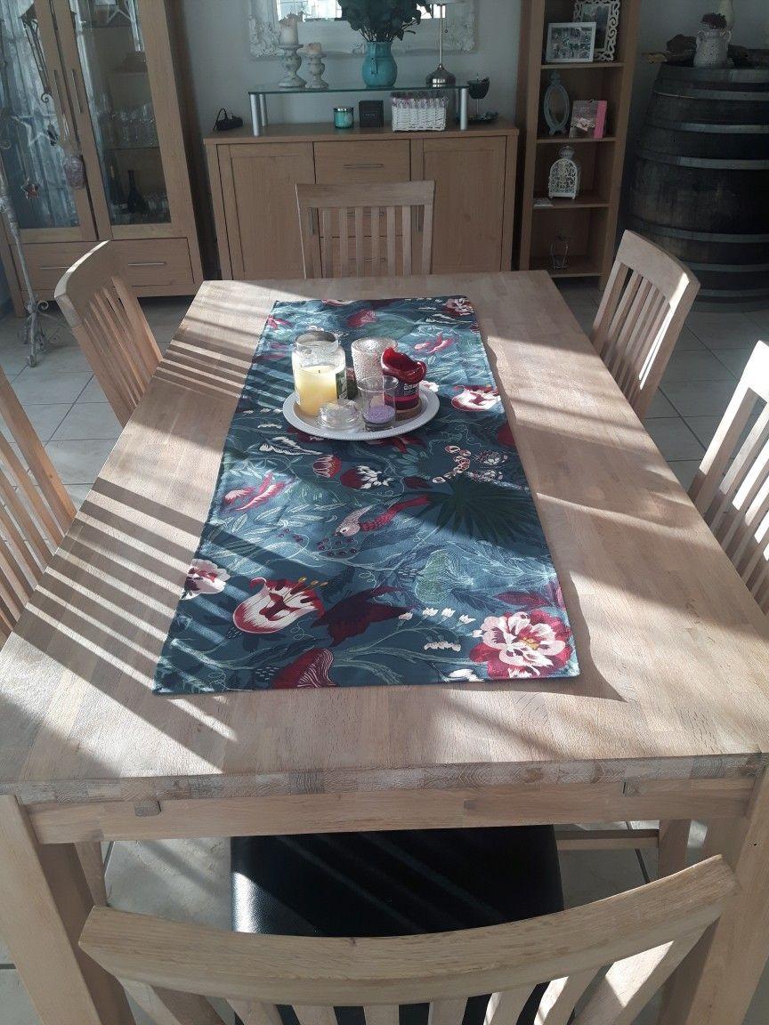Tischdecke Diy Selbst Genaht Ikea Stoffe Deko Petrol Ikea Stoff Ikea Deko