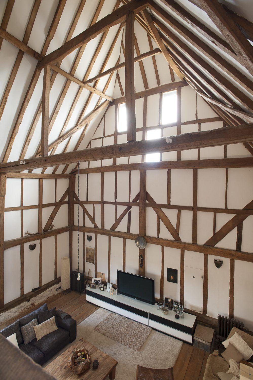 Une Grange Rénovée En Grande Bretagne   PLANETE DECO A Homes World