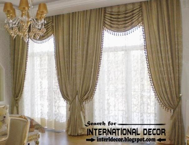 Top Trends Living Room Curtain Styles Luxury Classic Curtains And Window Treatments For L Living Room Drapes How To Choose Living Room Curtains Curtain Styles