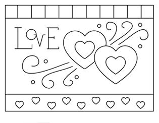 squishies coloring pages LOVE (Squishy Cute Designs) | For the kids   Coloring and puzzles  squishies coloring pages