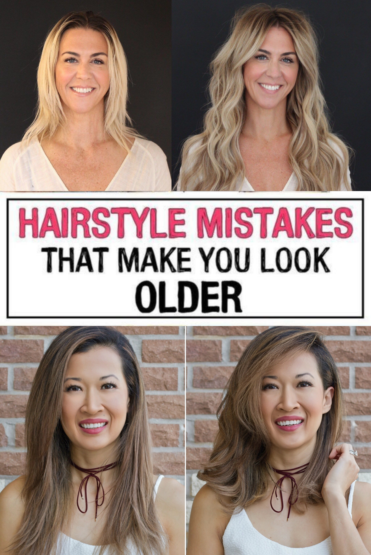 37 Hairstyle Mistakes That Are Aging You In 2020 Hairstyle Hair Mistakes Hair Advice