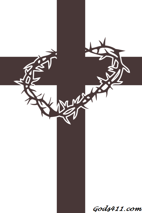 Cross With Crown Of Thorns Jesus Our Lord Saviour Pinterest