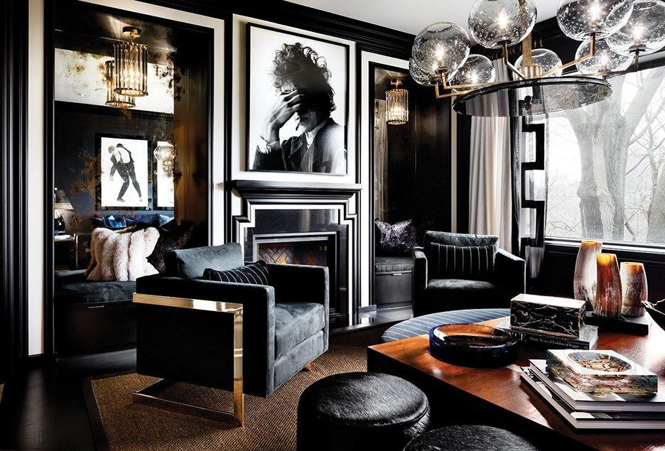 Glam living room rock  roll decor also pin by koso design on classic in pinterest rh