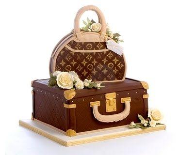 LV cake by mollie
