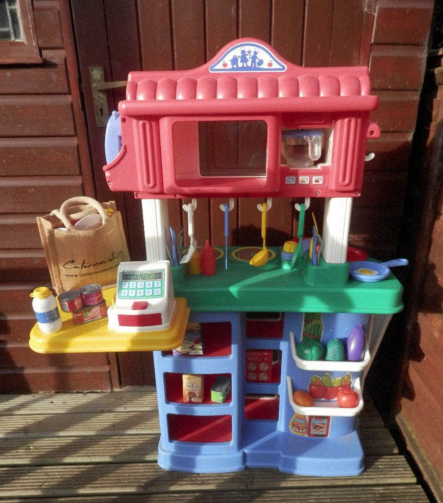 Fisher Price kitchen/shop and accessories Fisher Price kitchen/shop ...
