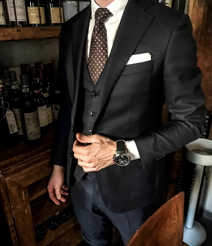 Winter style in a great mix of menswear blues menssuits mens