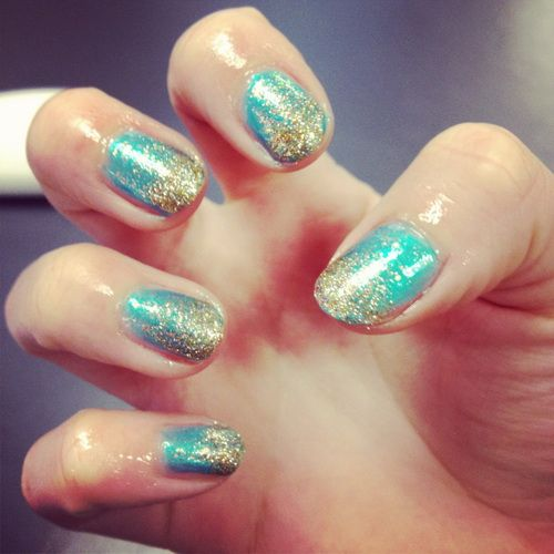 Pretty Nail Designs: Pretty Nail Designs Blue Gold ~ Nail Designs  Inspiration - Pretty Nail Designs: Pretty Nail Designs Blue Gold ~ Nail Designs