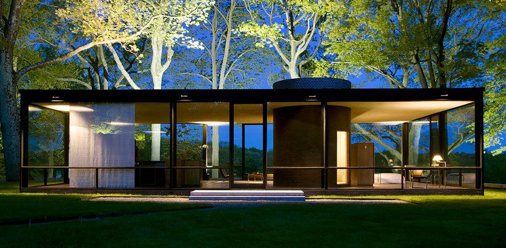 The Prettiest Homes In America Philip Johnson Glass House Glass