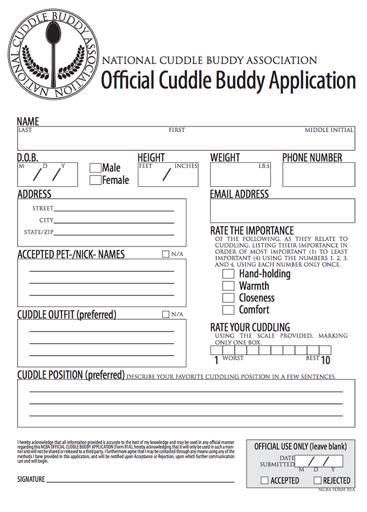 Official Cuddle Buddy Application  I Love Smiles