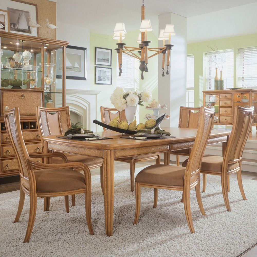 Antigua Rectangular Leg Dining Table American Drew Home Gallery Stores Dining Room Table Centerpieces Dining Table Centerpiece Dining Room Table Decor