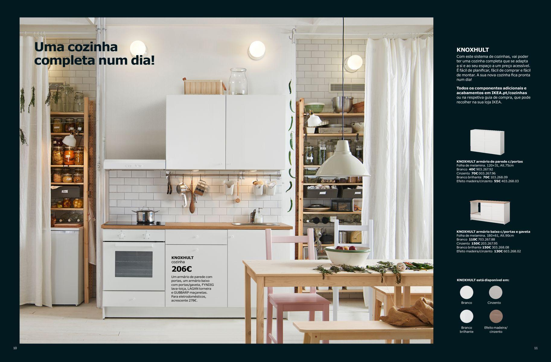 Brochura Cozinhas IKEA 2018 imagens) Cozinha ikea