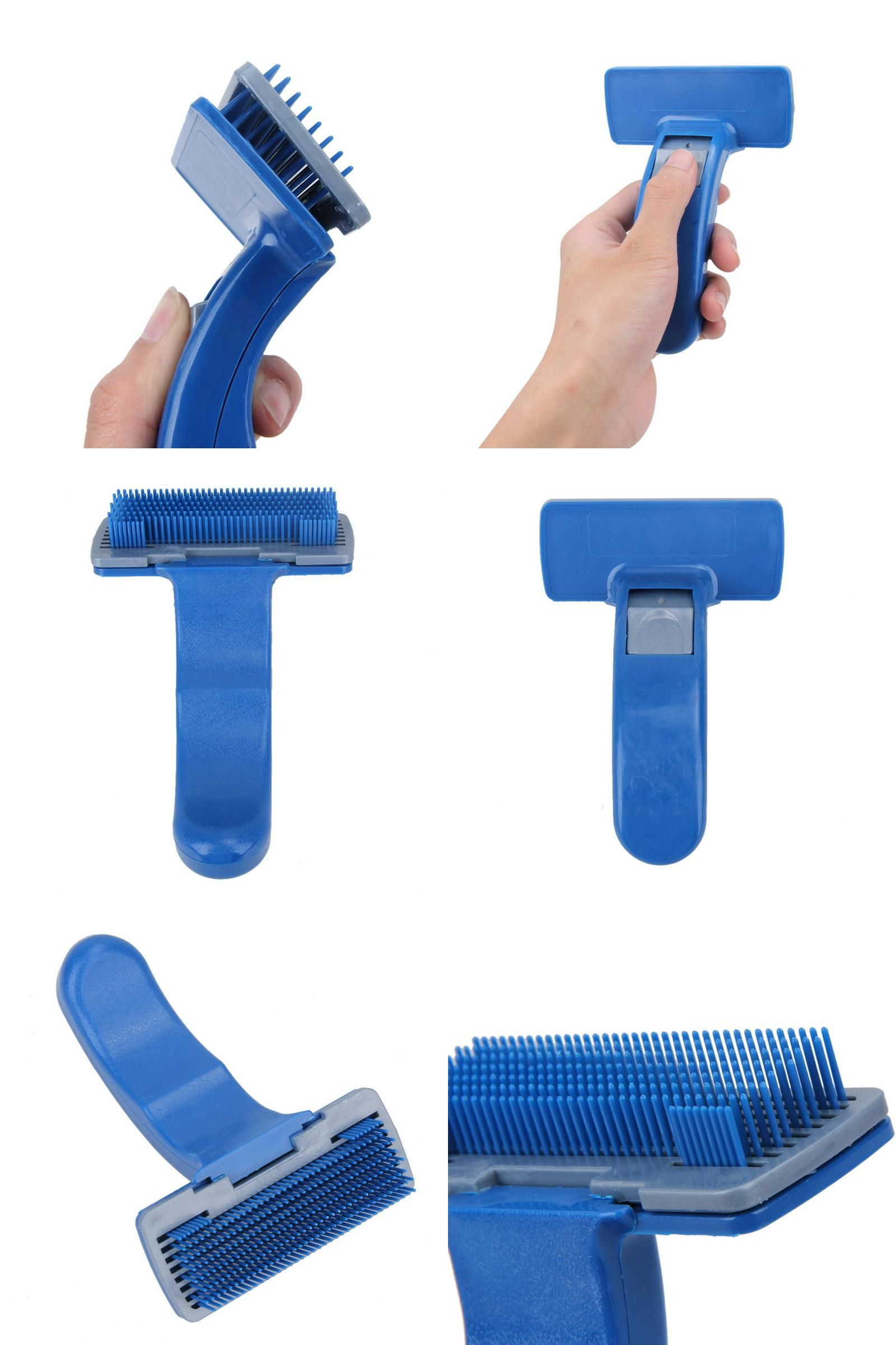 [Visit to Buy] Pet Comb Clean Shedding Tool Hair Fine