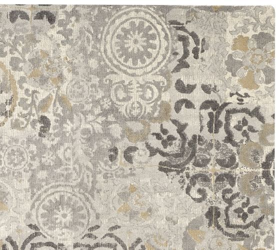 Pottery Barn Gray Rug Uniquely Modern Rugs