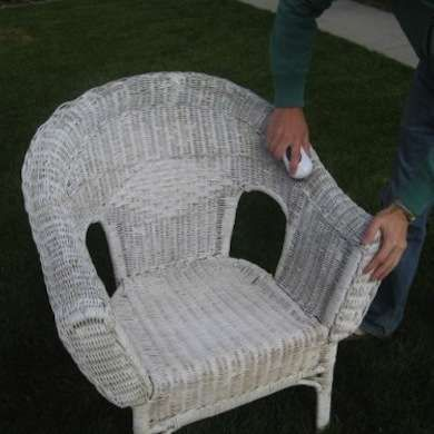 Wicker Patio Furniture, How To Clean White Wicker Outdoor Furniture