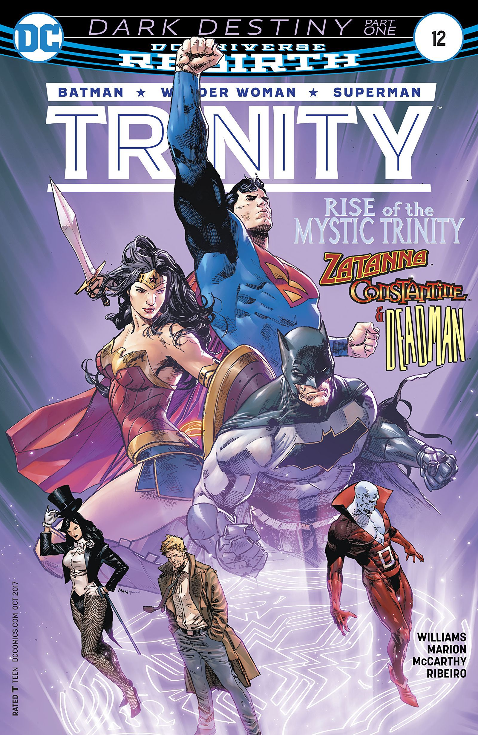 Trinity Annual #1 DC Comics Rebirth NM