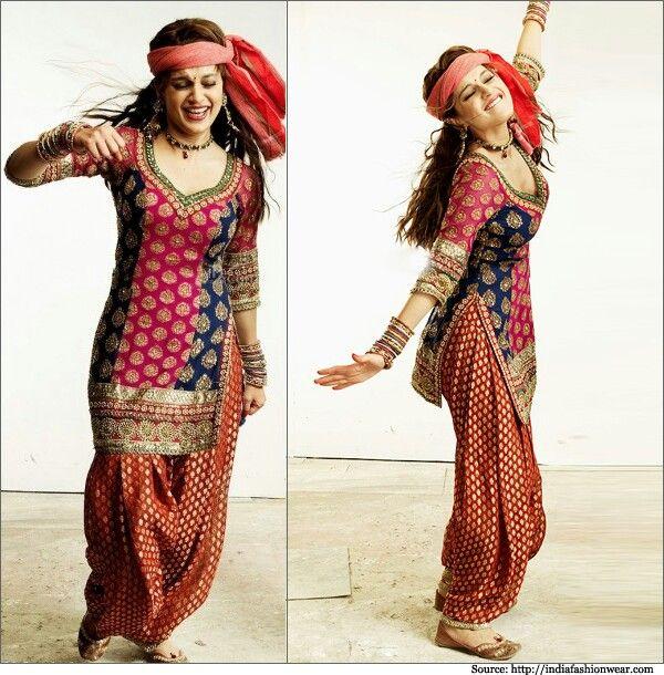Lovely Patiala Worn By Kangana Ranaut In Tanu Weds Manu Patiala Pants Indian Women Fashion Fashion