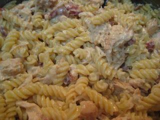 Garlic Chicken Farfalle | Real Mom Kitchen