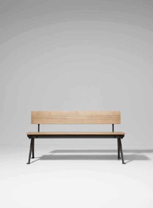 Indoor Bench Raw Furniture Bench With Back Furniture