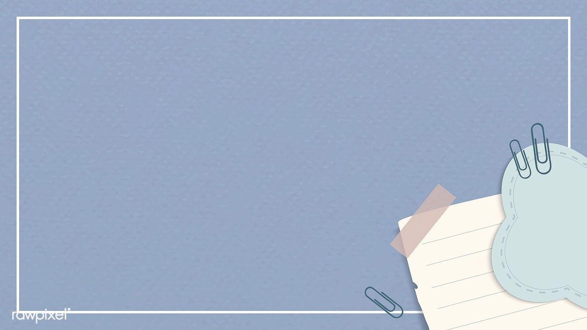Download Premium Illustration Of Corner Decoration Notepaper Set With Latar Belakang Gambar Fotografi Pemula