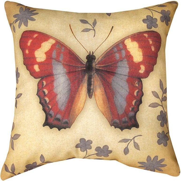 Butterfly Indoor Outdoor Pillow