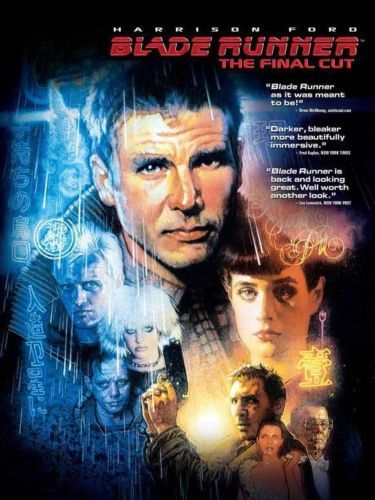 Blade Runner Movie Poster 27x40 E Harrison Ford Rutger Hauer Sean Young Daryl | eBay