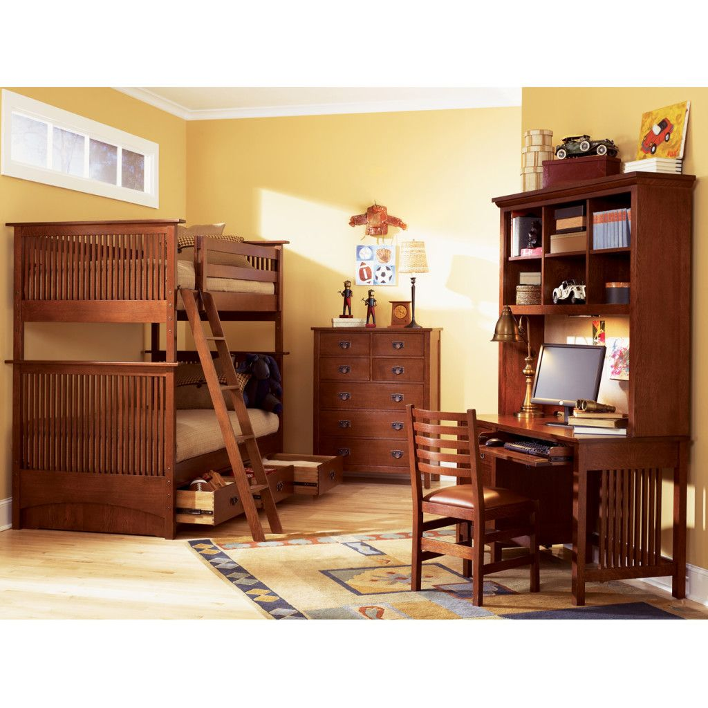 Stickley Bunkbed 7509 Bed Storage Unit Available At Home Interiors Cedar  Falls Iowa