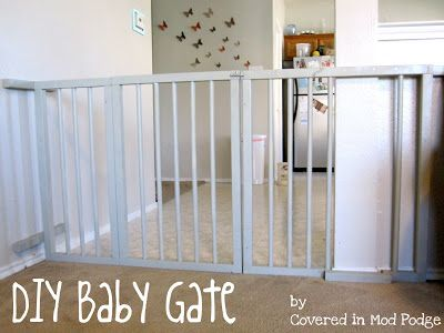 Diy Babyzimmer ~ Diy baby gate or my husband calls it a baby cage simply