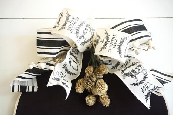 Photo of Hoop Wreath, Modern Wreath, Farmhouse Wreath, Gather Sign, Embroidery Hoop Art, 5th Anniversary Gift, Fall Wreath, Autumn Wreath,