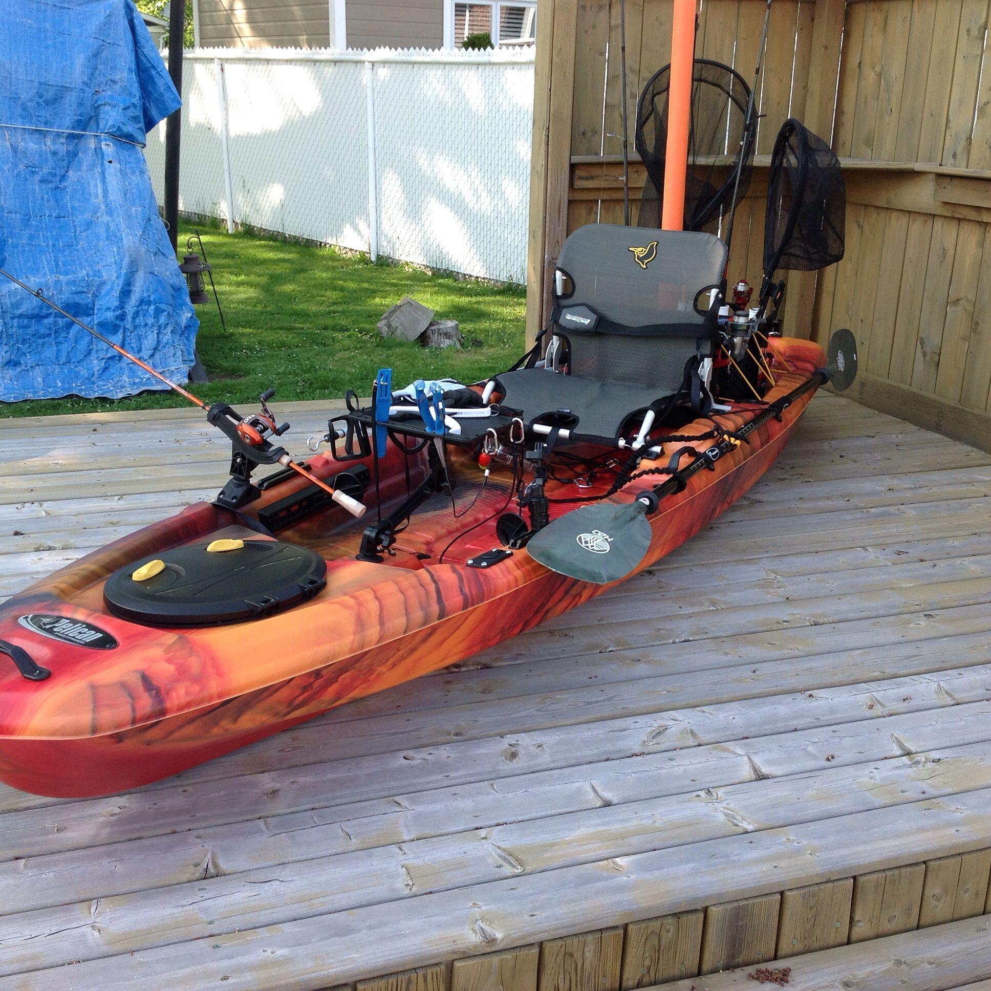 Kayak Catch 120 Modifier With Images Kayak Accessories Angler Kayak Kayaking