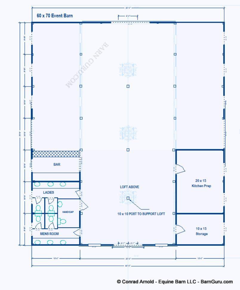 Party Event Barn Plans Design Floor Plan Handicap Family Bathroom Separate Event Venue Design Farmhouse Floor Plans Barn Design
