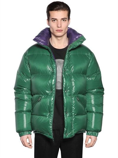 moncler green down dejan jacket