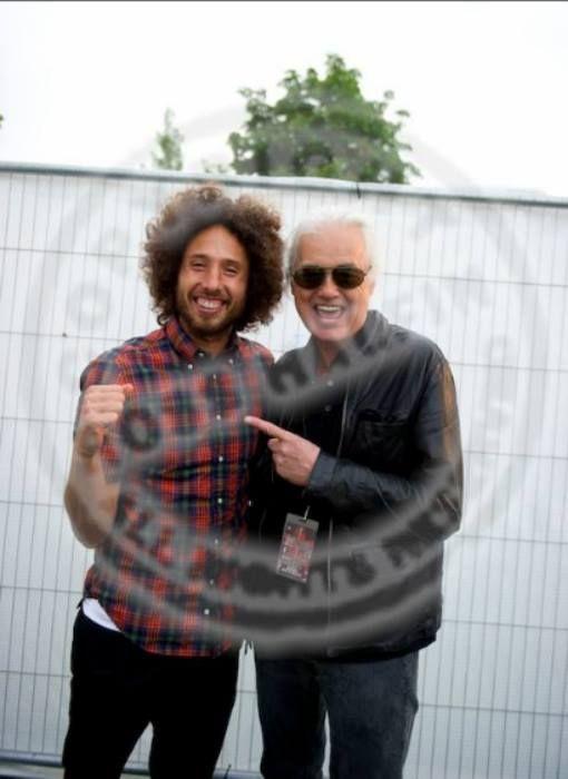 Jimmy Page & Zack de la Rocha