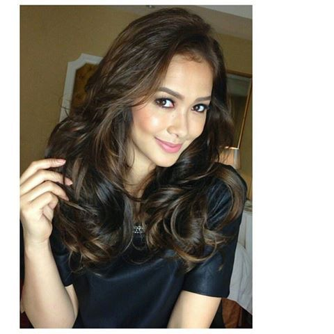 Maja Salvador Hair Color Hair Byrdie Beauty Filipina Beauty