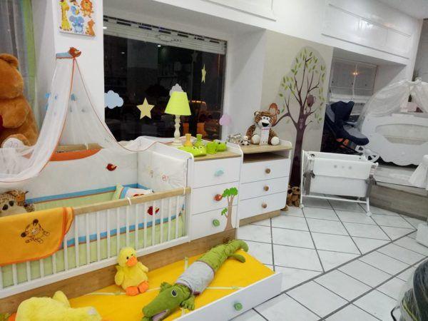 Lit barreau – lit bébé – chambre à bébé – design – commode bébé ...