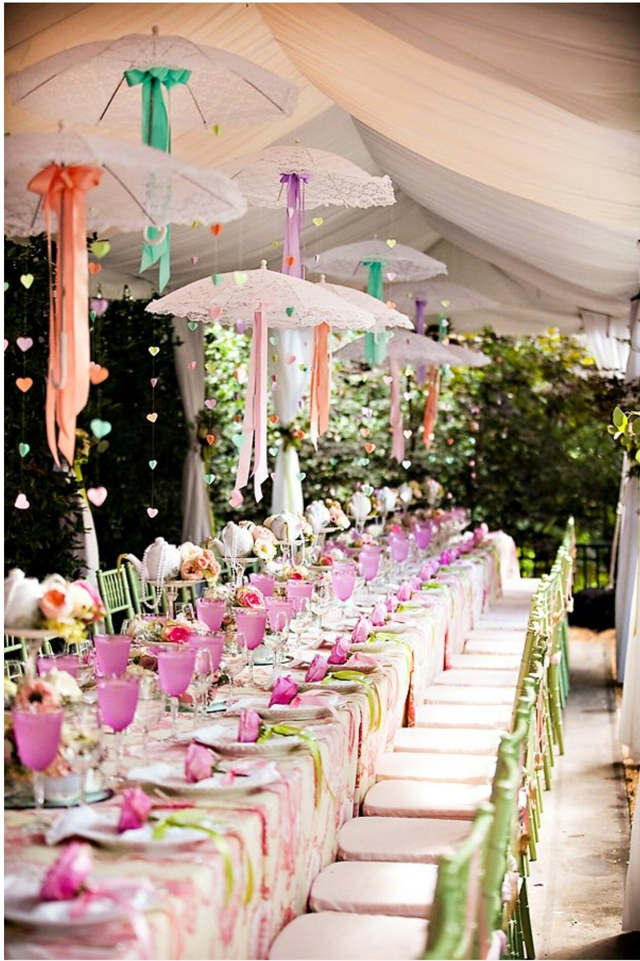 umbrella decorations party tent decorations high tea decorations bridal shower decorations tent