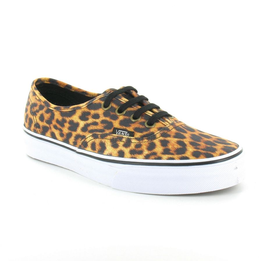 Leopard print shoes, Leopard print vans